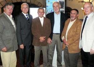 Quelques-uns des membres fondateurs : JM Rousseau (Bastia), A.Misseri (Nice), G.Roquelaure (Draguignan), A.Michel (La Cadière), P.Benessiano (Nice), PA Carpentier (Menton).